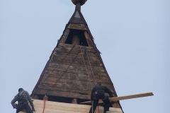 Radovi na Katoličkoj Crkvi Čelarevo
