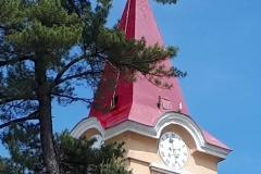 Farbanje Crkvenog Tornja Plavna