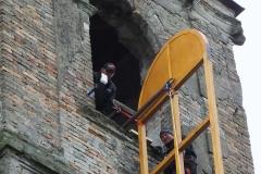 Podizanje prozora na Crkvi